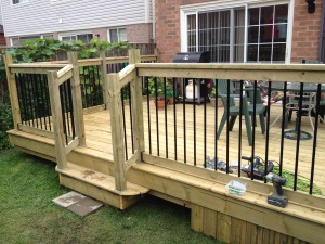 18 x 15 deck in Brampton